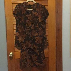 Studio by Liz Claiborne  Shirt/Skirt set
